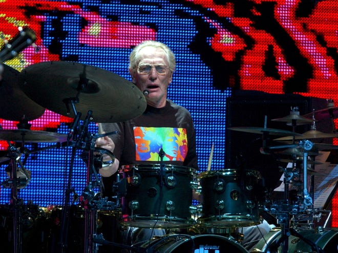Cream drummer Ginger Baker died Sunday at age 80, his family said.