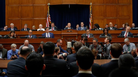 Acting Director of National Intelligence Joseph Maguire testifies before the House Intelligence Committee on Sept. 26, 2019.