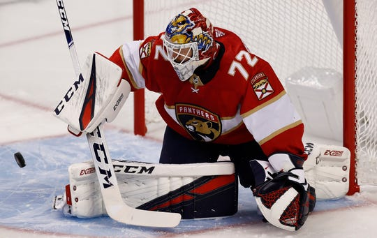 Goaltender Sergei Bobrovsky could carry the Florida Panthers to a playoff spot.