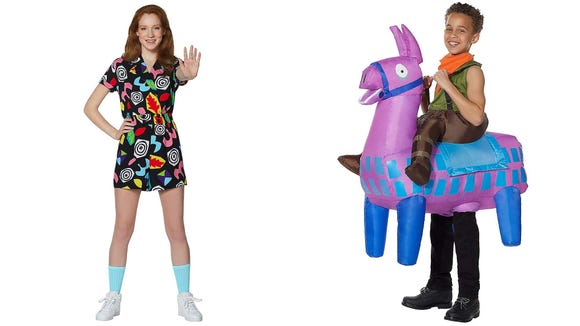 Save on popular costumes from Stranger Things, Fortnight, and more.