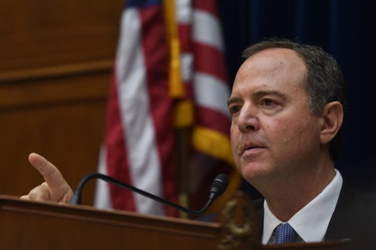 "House Intelligence Committee Chairman Adam Schiff, D-Calif., says security for the whistleblower is ""paramount."""