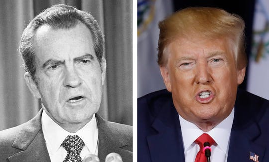 President Richard Nixon was held accountable for his mistakes. What about President Donald Trump?