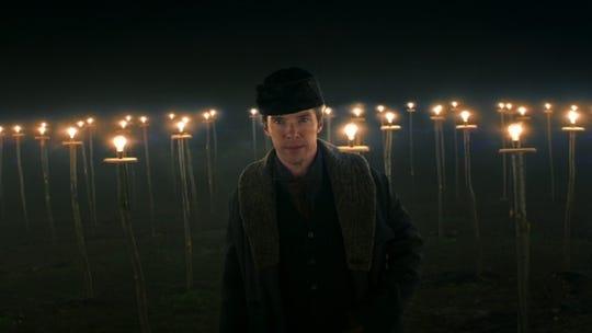 "Benedict Cumberbatch plays Thomas Edison in ""The Current War."""