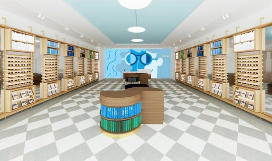 Warby Parker is opening at The Grove at Shrewsbury on October 5, 2019.