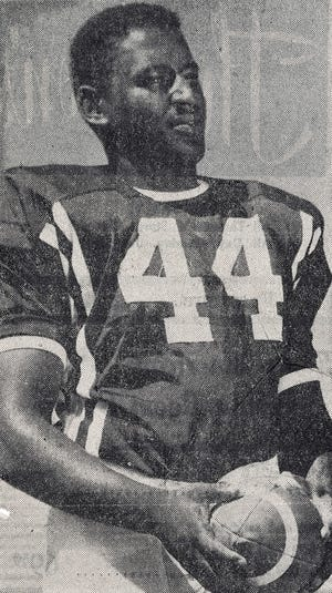 Louis Kelley was an all-Border Conference player for New Mexico State University, and was on the Aggies team that won the 1959 Sun Bowl 28-8 over North Texas State University.