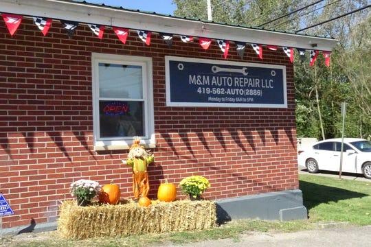 M&M Auto Repair, 301 W. Mary St.