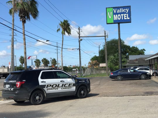 Corpus Christi police are investigating the shooting death of a woman whose body was found at a motel on Leopard Street on Sept. 27, 2019.