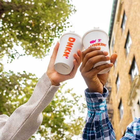 Dunkin' is ready to treat you right on National Coffee Day.