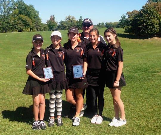 Ryle's 2013 regional golf team.