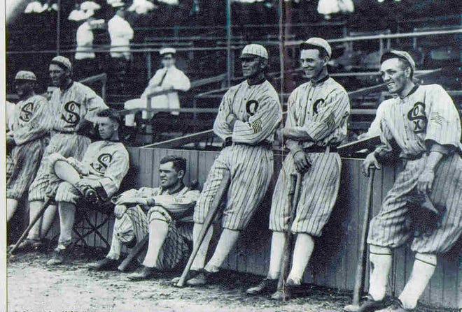 Members of the Chicago White Sox.