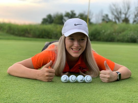 Ryle senior golfer Caitlyn Richardson