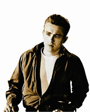 """James Dean is shown as Jim Stark in a scene from the 1955 movie """"Rebel Without A Cause."""""""