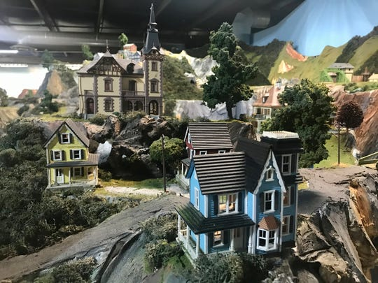 Inside Northlandz, the world's largest model train museum.