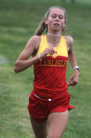 Carlisle sophomore Ainsley Erzen finished second in 18:43.60. Indianola High School hosted the Indianola Invite at Pickard Park on Sept. 26.
