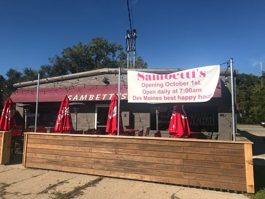 Sambetti's is now open daily for breakfast, lunch and dinner in downtown Des Moines.