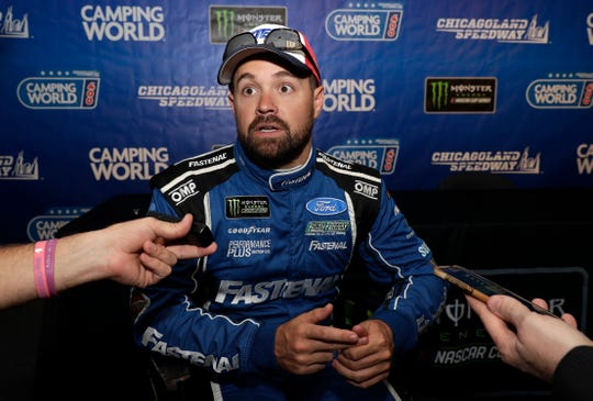 Ricky Stenhouse Jr. and Roush Fenway Racing will split at the end of the season and Chris Buescher will replace him in 2020.