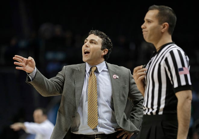 Georgia Tech's basketball team was banned from postseason play for the upcoming season and slapped with four years of probation for major recruiting violations committed by a former assistant coach and an ex-friend of head coach Josh Pastner.