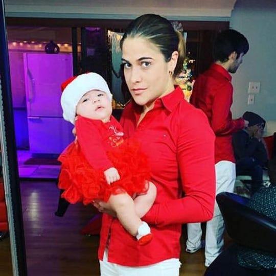 Ana Maria Arce Valdez and her partner Yardira Sanchez were raising Sanchez year-old daughter,  Angelina Sanchez,together. Valdez died Thursday, a day after she was severely burned in a crash on Interstate 75 in Fort Myers.