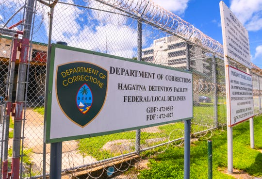 The Department of Corrections' Hagåtña Detention Facility on Friday, Sept. 27, 2019.