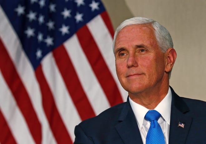 Vice President Mike Pence will appear in Arizona alongside Sen. Martha McSally, R-Ariz., at events in Scottsdale and near Tucson.