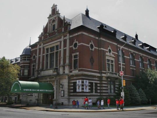 The Athenaeum, originally known as Das Deutsche Haus, was built from 1893 to 1898.
