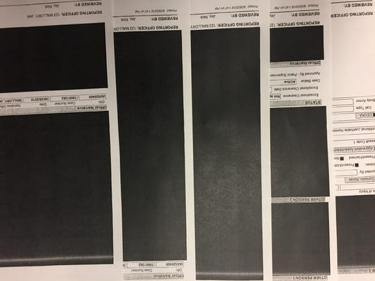 Redacted UIPD incident report relating to the Sept. 14 football game between the University of Iowa and Iowa State University