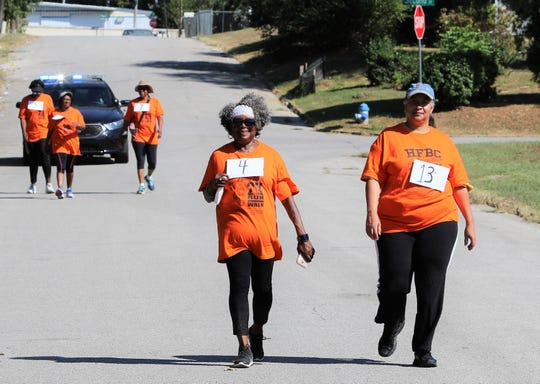 For the first time, the sixth annual Unity Festival featured a 2K run/walk. Because obesity is one of the country's No. 1 health issues, Historic First Baptist Church wanted to start an initiative to combat it with health.