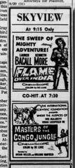 Advertisement in the September 20, 1960 Lancaster Eagle-Gazette.