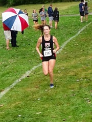 Fairfield Union junior Madison Eyman is having a spectacular season with five first-place finishes. She continues to lower her time as she gears up for the postseason.