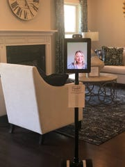 If you visit a Goodall Homes model home after hours, a robot will give you the tour. This one is in the Carellton neighborhood in Gallatin.