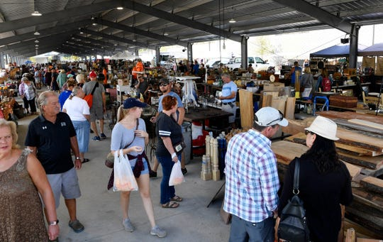 The Nashville Flea Market will take place in its new space this weekend.