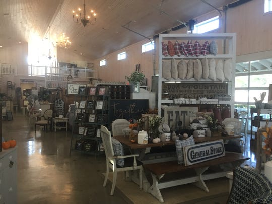 Offering handmade, Ohio-made decorating items, the Ivory Barn is located in a new, approximately 7,800 square foot barn in downtown Pataskala.