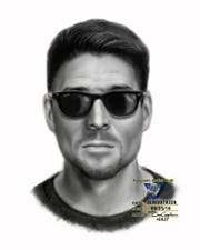 A sketch of a man who New Jersey State Police say tried to lure a 13-year-old boy in Old Tappan.