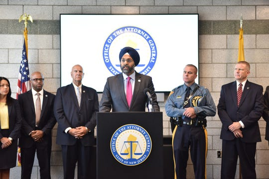 New Jersey Attorney General Grubir Grewal issues a directive that law enforcement agencies in the State of New Jersey cannot be deputized by ICE in Newark, N.J. Friday Sept. 27, 2019.