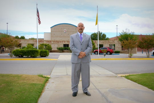 Daniel Peters was recently hired as the new Director of the Doña Ana County Detention Center.