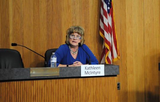 Livonia Council President Kathleen McIntrye.