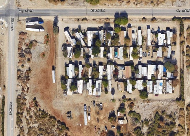 The incident was reported about 9:30 a.m.Friday, Sept. 27, 2019, in a trailer park in the 88-000 block of Airport Boulevard, near Fillmore Street in Thermal.
