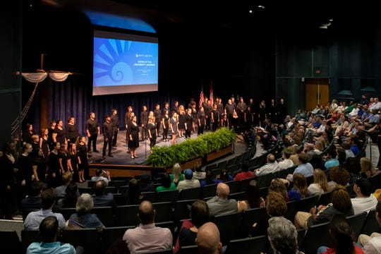 The University of West Florida is setting its goals highfor 2020, the president said during her State of the University address.