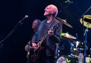 Peter Frampton starts off his Finale - The Farewell Tour at Comerica Theatre in Phoenix on Sept. 26, 2019.