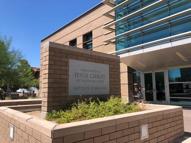 The Tempe Institute of Religion, part of The Church of Jesus Christ of Latter-day Saints, sits in the middle of Arizona State University's Tempe campus.