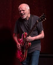 Peter Frampton plays during his Finale -  The Farewell Tour at Comerica Theatre in Phoenix on Sept. 26, 2019.