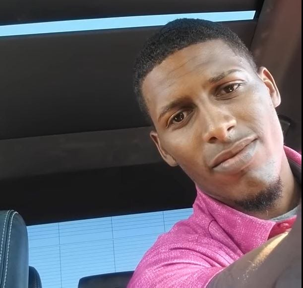 Phil Colbert, 22, says he was racially profiled when a La Paz County sheriff's deputy stopped him for having an air freshener hanging from his rear-view mirror.