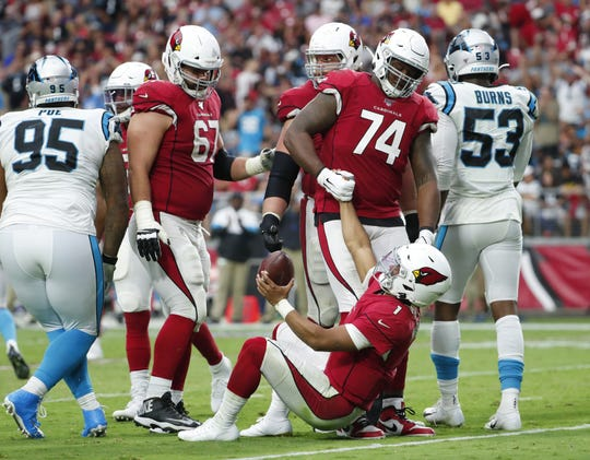 The Arizona Cardinals offensive line isn't entirely to blame for the high number of sacks on Kyler Murray this season.