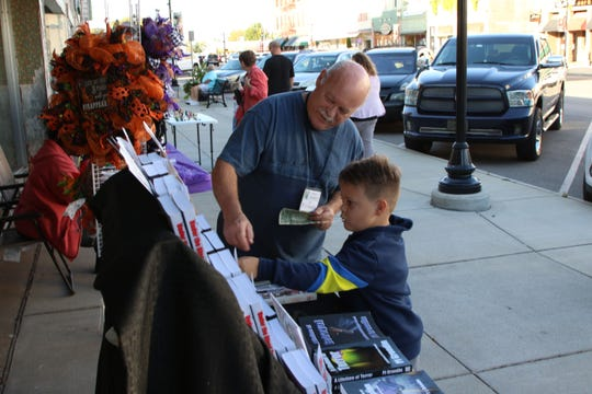 """""""Port Clinton History"""" was the theme for the end of the season Art Walk, on Thursday September 26,2019."""