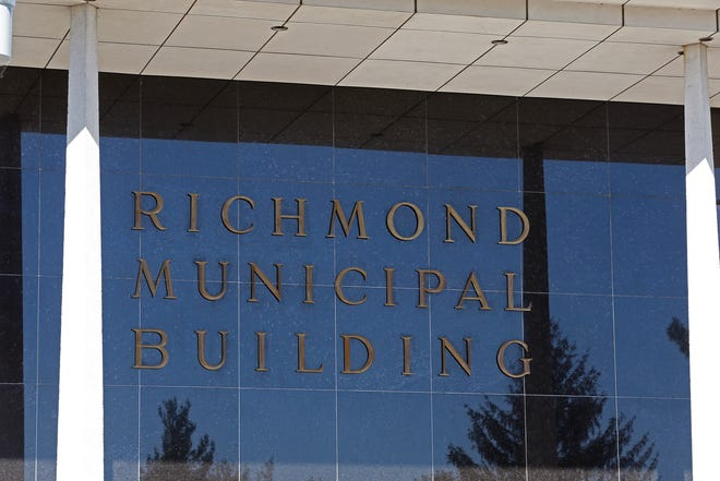 The Richmond Municipal Building, 50 N. Fifth St., celebrated its 50th anniversary in 2019.