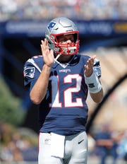 New England Patriots quarterback Tom Brady has a 30-3 career record against the Buffalo Bills, something he will try to improve upon on Sunday.
