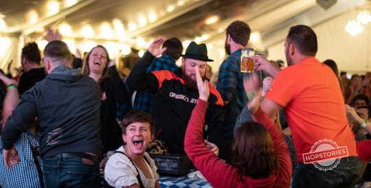 "The 11th annual ""Bloktoberfest"" is hosted by Block 15 Brewing Co."