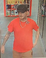 The Caddo Sheriff's Office is asking for help in identifying this man who may have information concerning a vehicle theft.