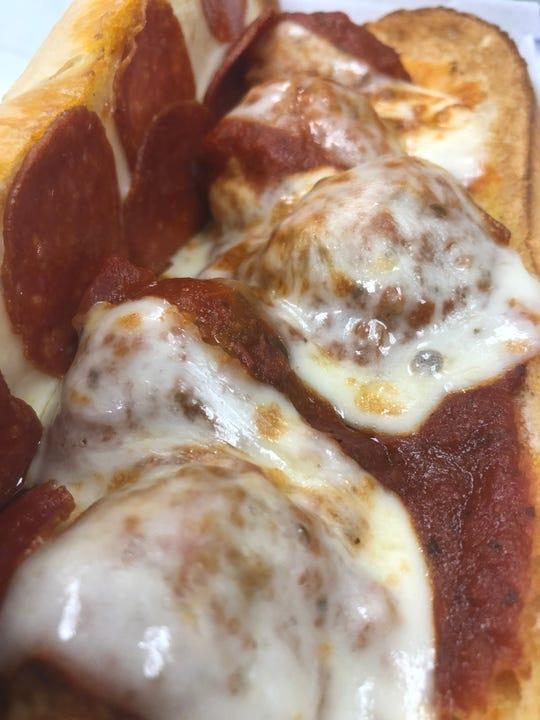 Fazoli's meatball sub.