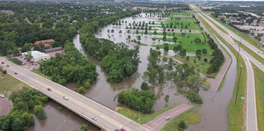 The Sioux Falls bike trail and all parks were reopened on Thursday after flooding in mid-September.